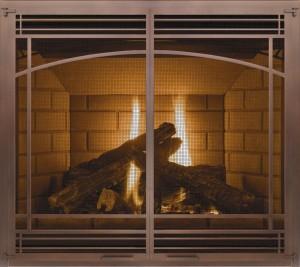 Ambiance fireplace