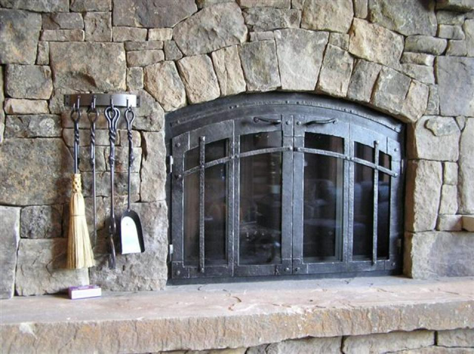 Fireplace Doors Wrought Iron. Ironhaus Caters To A Regional Group Of  Builders, Architects And