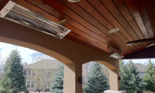Electric Patio Heater Colorado Comfort Products Inc