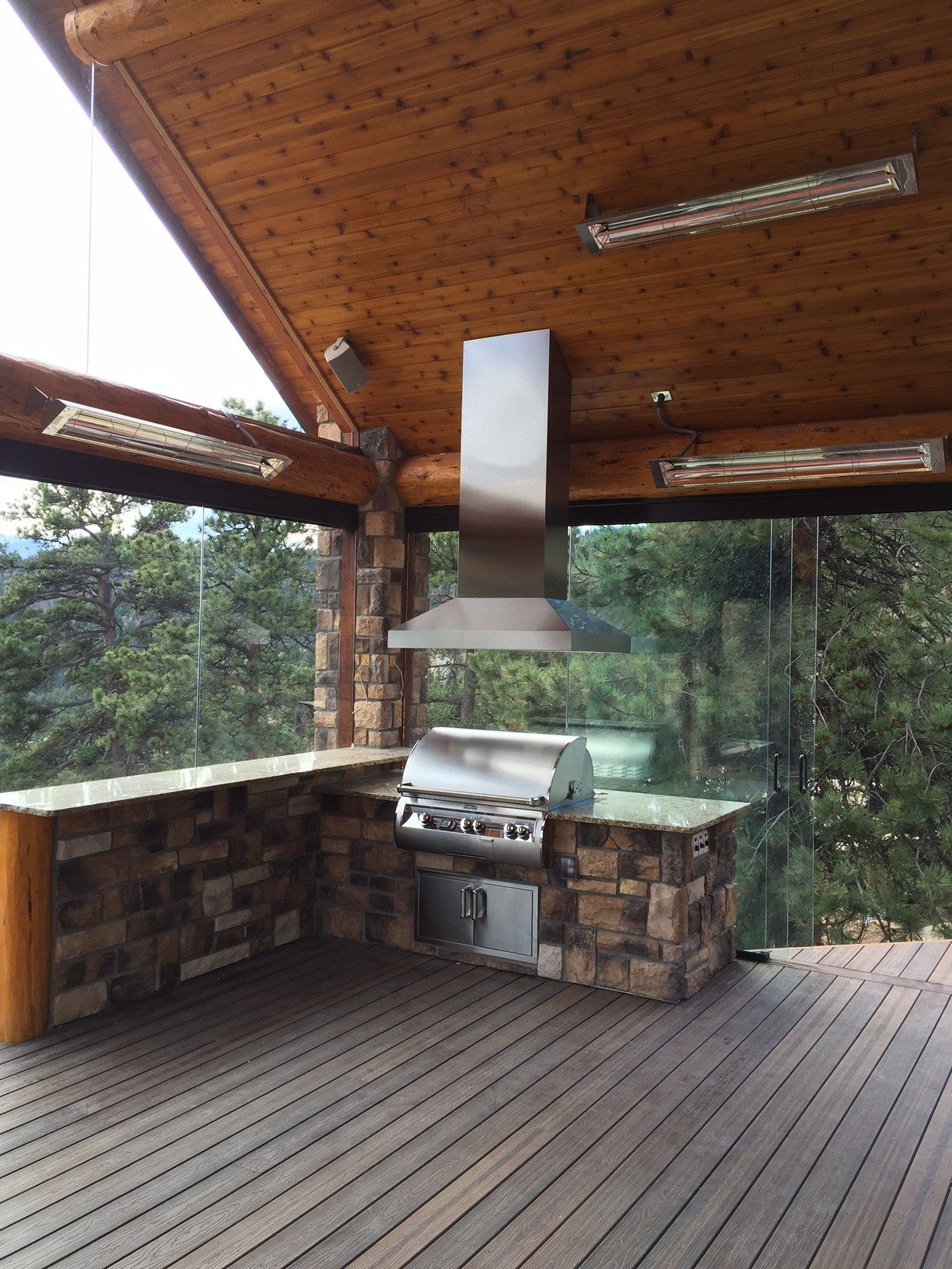 Ask Us About Our BBQ Centers And Electric Heaters That Will Fit On Any Patio