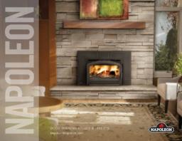 Napoleon Wood-burning inserts and stoves